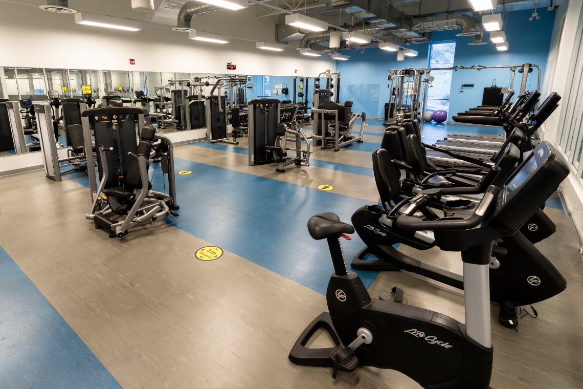 Fitness Centre at Trafalgar Park Community Centre.