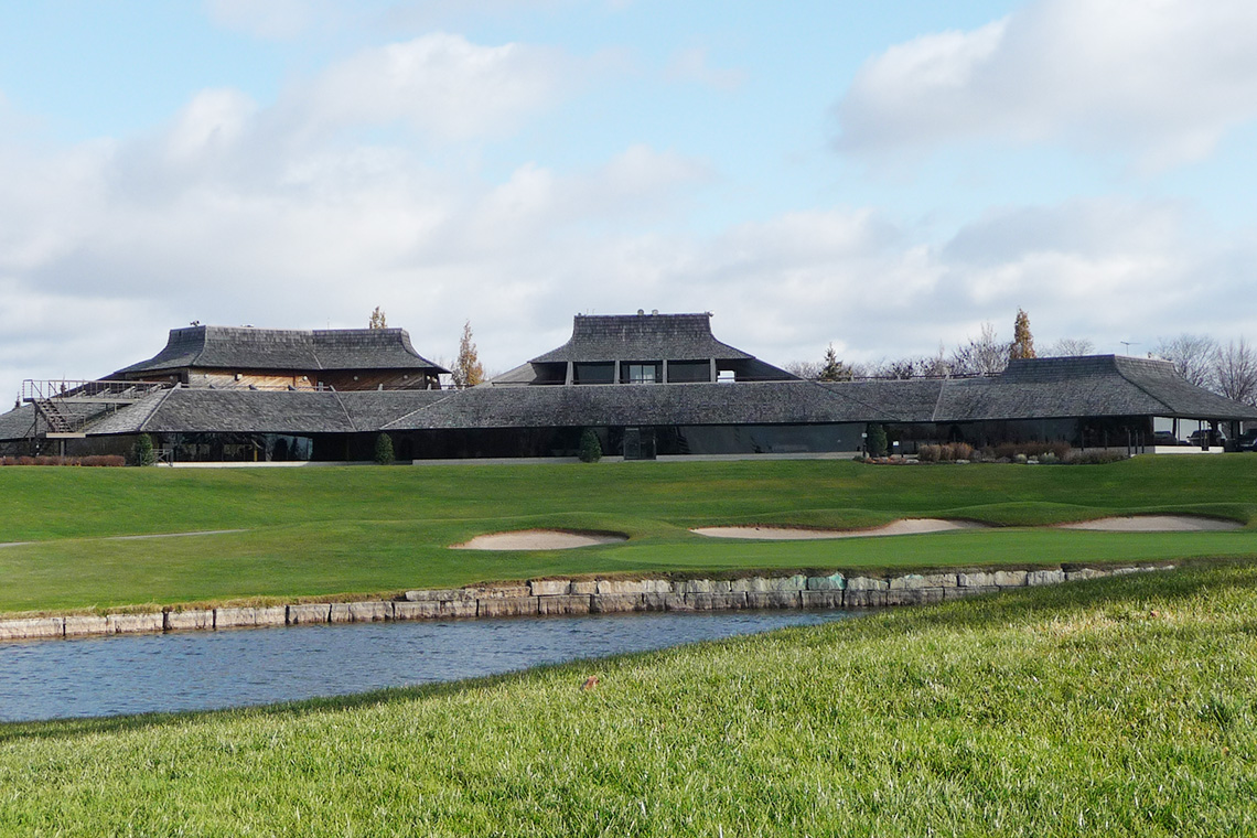 Glen Abbey Golf Course clubhouse