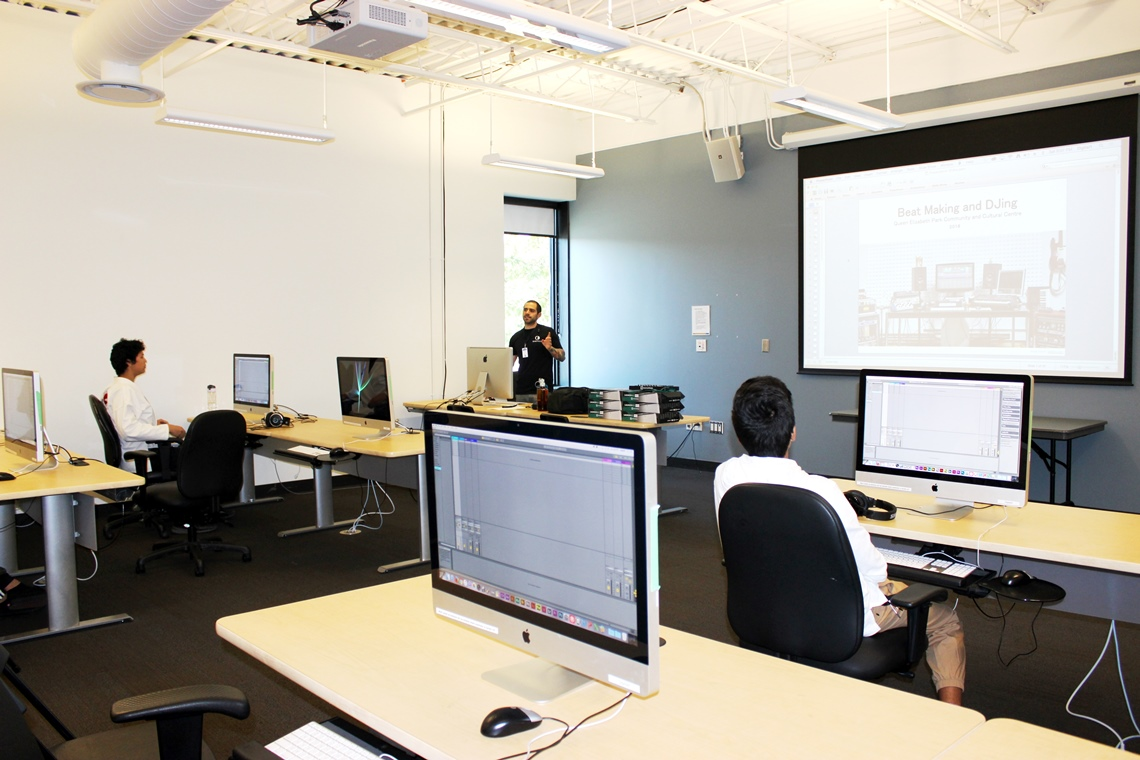 QEPCCC's Digital Arts Studio has state-of-the-art equipment including 3D printers