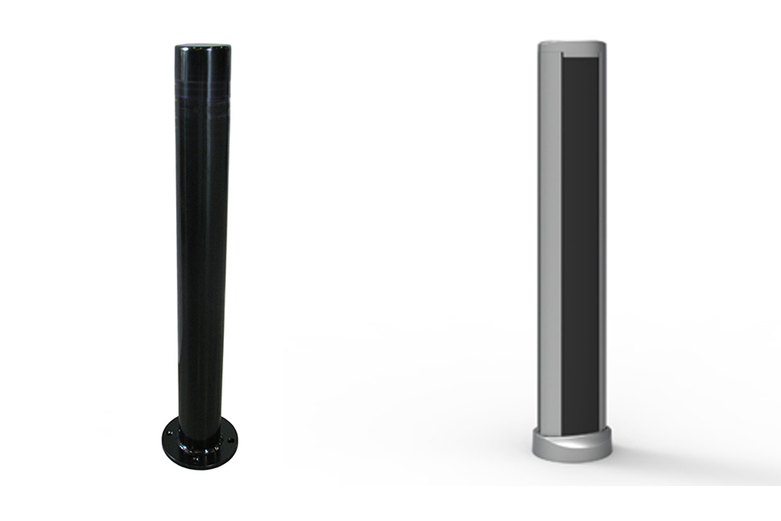 "Of the three options, selected bollard ""option a and b"" both received received 40% of votes"