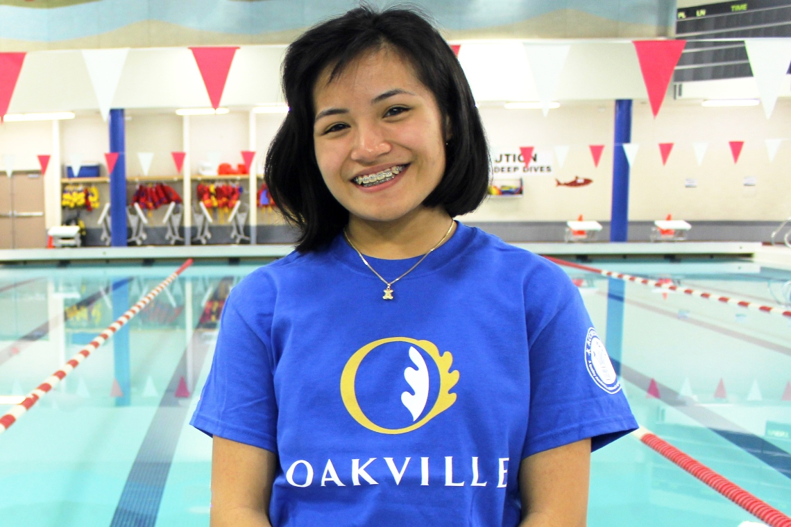 Image of Alyssa C., a Town of Oakville Aquatics employee.