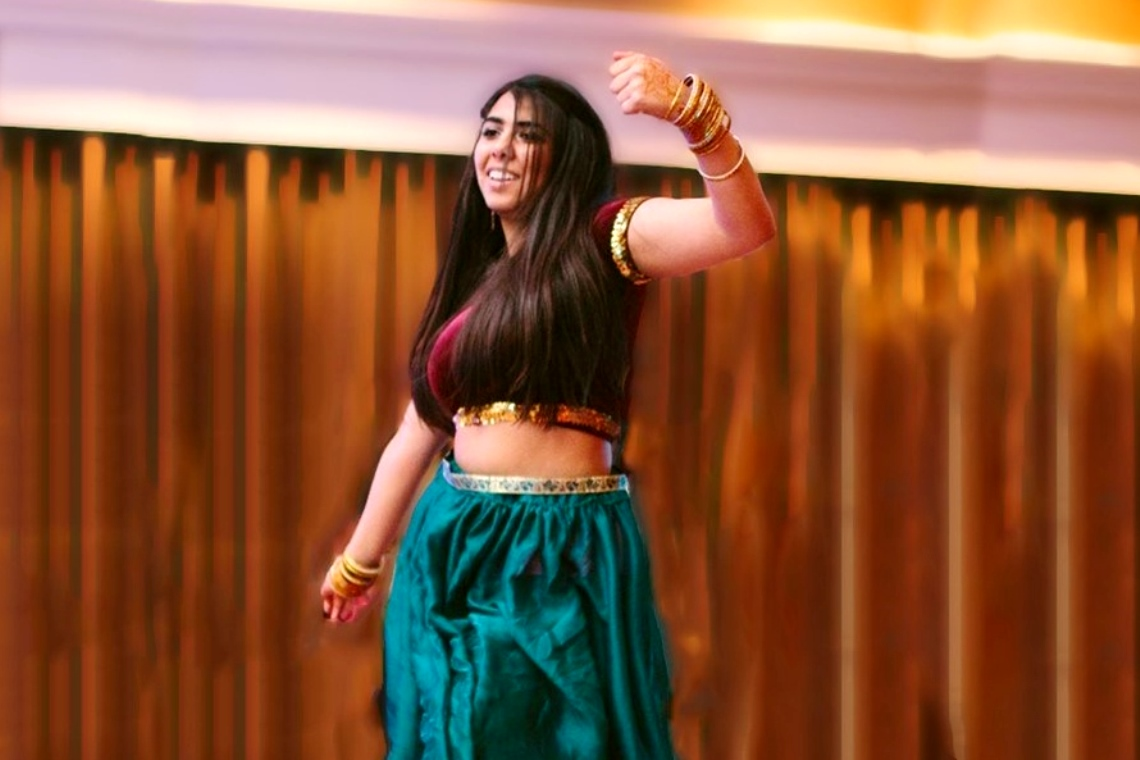 Bollywood dancing - a fun, family-friendly activity.