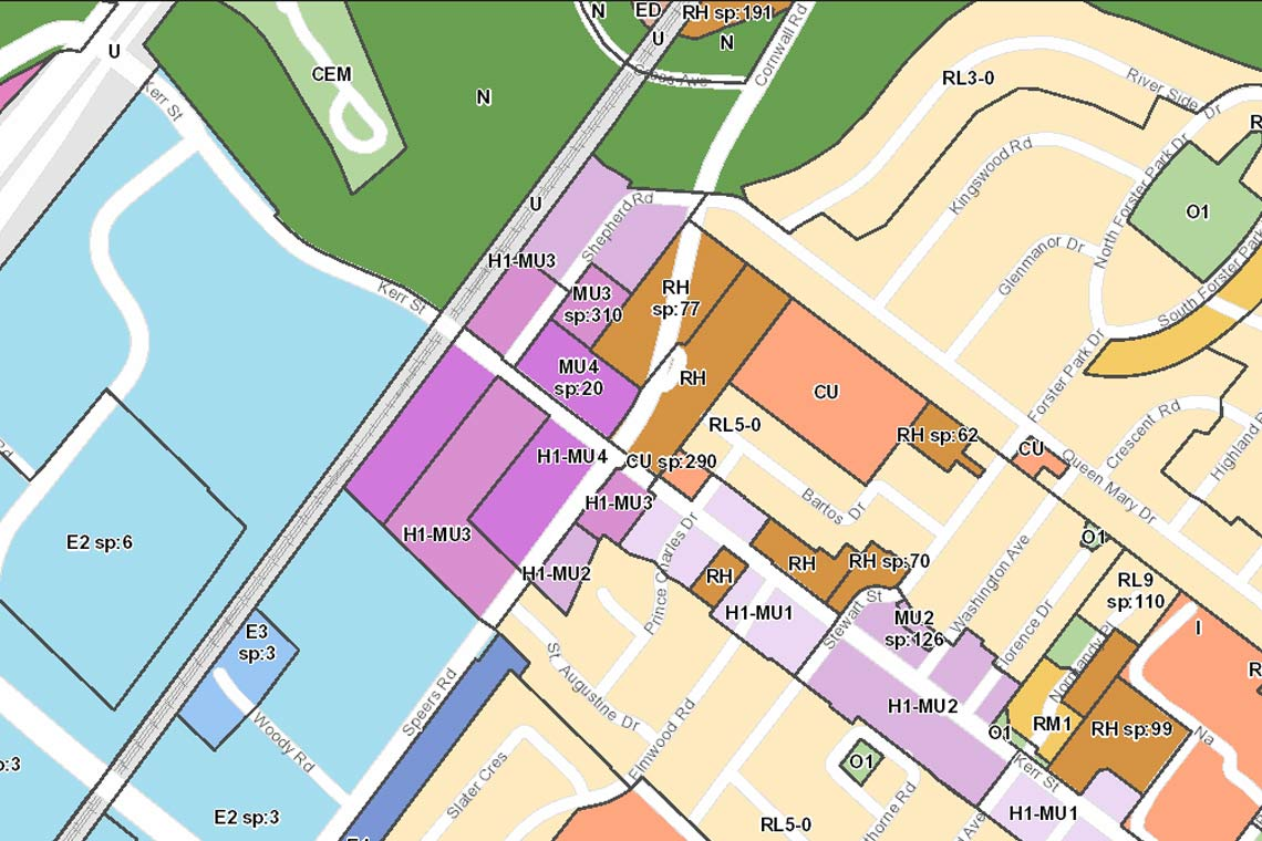 Image of zoning map.