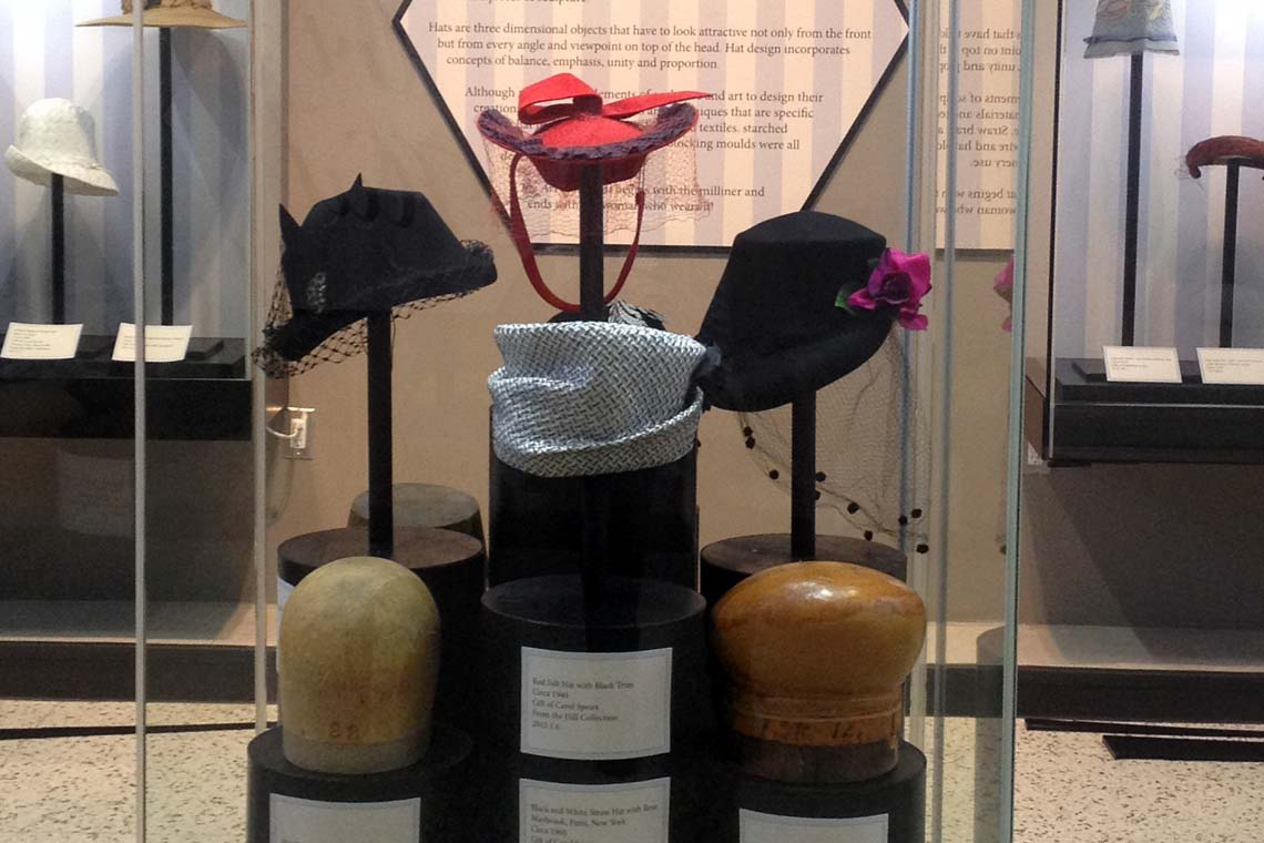 Art of the Hat exhibition
