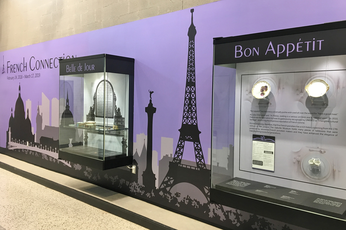 French Connection exhibit at QEPCCC