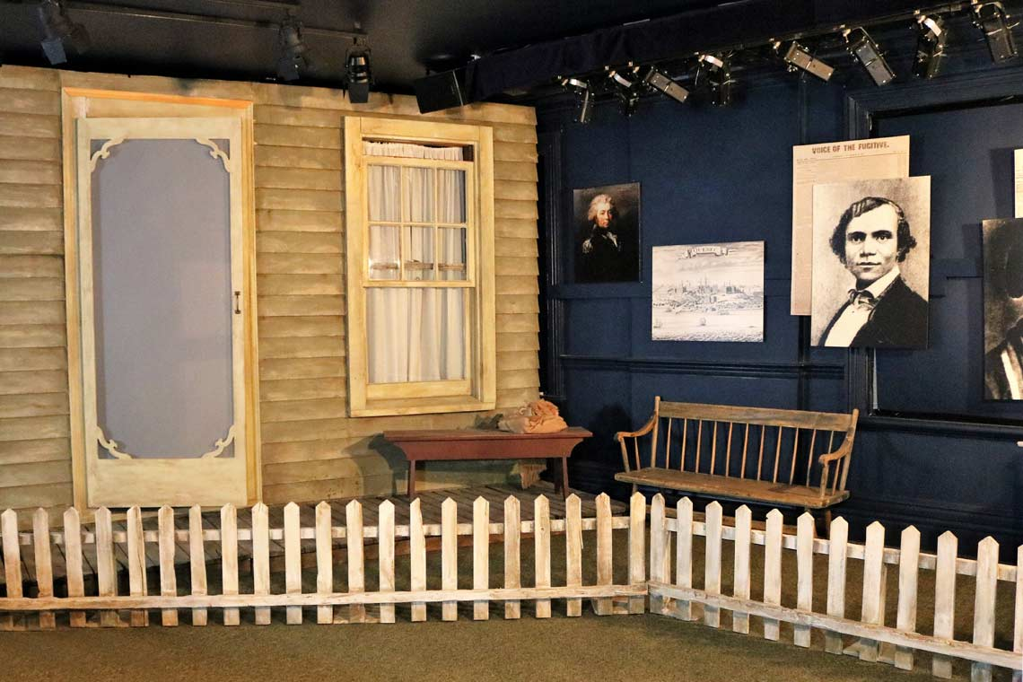The Underground Railroad: Next Stop Freedom exhibition