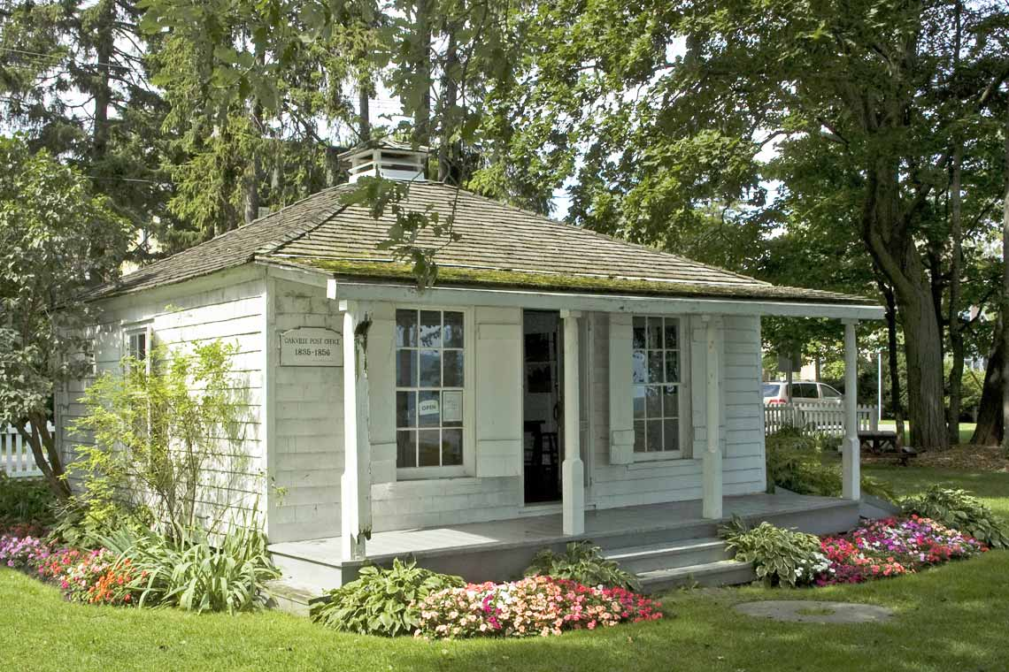 Oakville's first post office