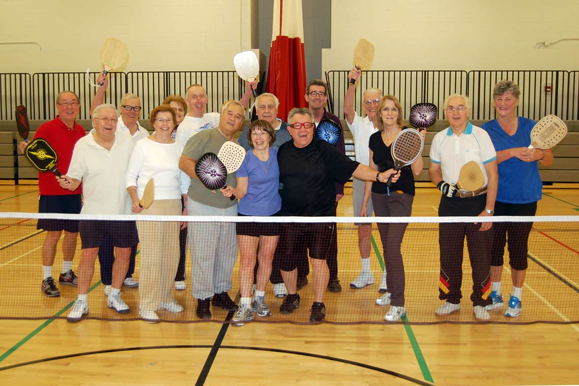 Pickleball is a great way to keep active and have fun!