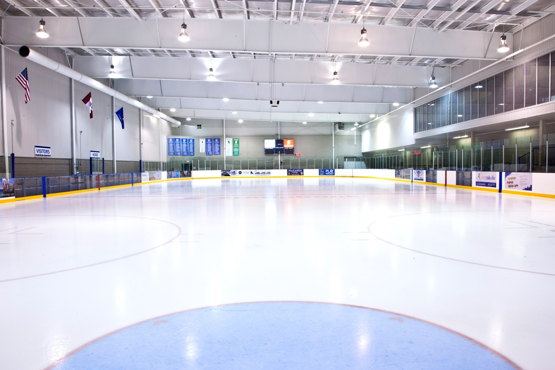 Arena Ice Floors And Shooter Pads