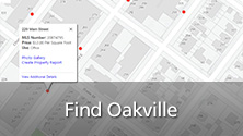 Image of Find Oakville tool.