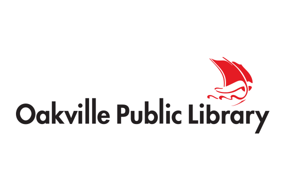 Image of the Oakville Public Library logo.