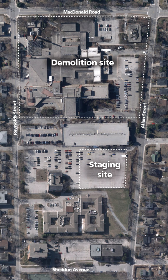 Demolition Site Map