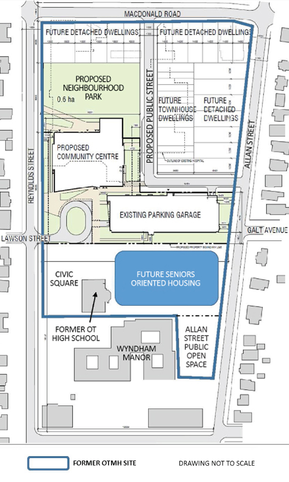 Approved Former Hospital Site Master Plan