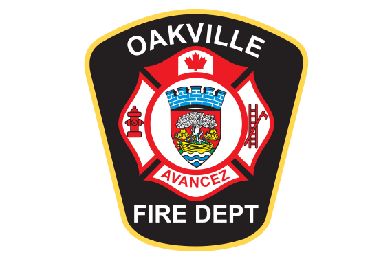 Image of Oakville Fire Department logo with link.