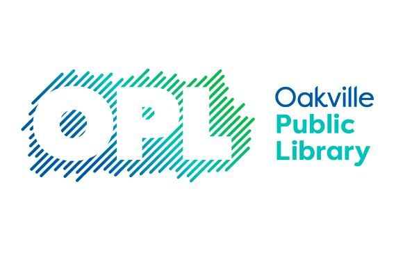Image of Oakville Public Library logo with link.